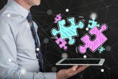 Pojęcie biznesowy partnerstwo Obraz Stock