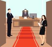 Pojęcie dla sukcesu, motywacja w biznesie royalty ilustracja