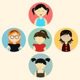 Pojęcie dzieciaków charaktery royalty ilustracja