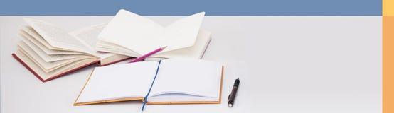 Pojęcie edukacja sztandar Obrazy Stock