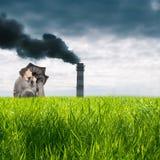 pojęcie ekologia Zdjęcie Royalty Free