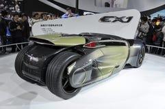 pojęcie elektryczny ex1 Peugeot czysty Zdjęcia Stock