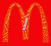 pojęcie fast food Obrazy Royalty Free