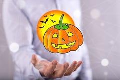 Pojęcie Halloween Zdjęcia Stock