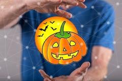 Pojęcie Halloween Zdjęcia Royalty Free
