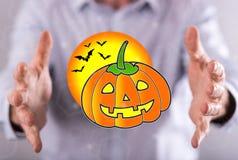 Pojęcie Halloween Fotografia Stock