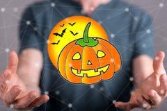 Pojęcie Halloween Zdjęcie Stock