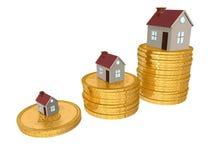 pojęcie hipoteka ilustracja wektor