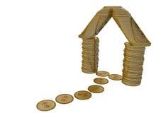 pojęcie hipoteka ilustracji