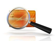 pojęcie karciany kredyt ilustracji