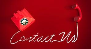 pojęcie kontakt my Zdjęcie Royalty Free