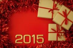 Pojęcie liczba rok 2015 Zdjęcie Stock