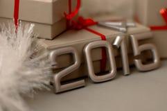 Pojęcie liczba rok 2015 Zdjęcia Royalty Free
