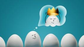 pojęcie narcyzm Royalty Ilustracja