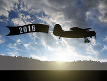 Pojęcie nowy rok 2016 Zdjęcie Royalty Free
