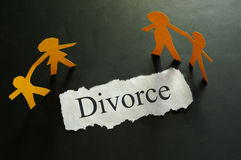 pojęcie rozwód Obraz Royalty Free
