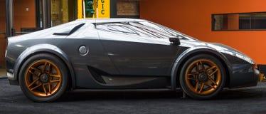 Pojęcie samochodowy Lancia Nowy Stratos Fenomenon Zdjęcia Stock