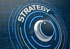 Pojęcie strategia biznesowa Obraz Royalty Free