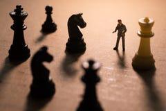 Pojęcie strategia biznesowa Fotografia Royalty Free