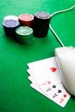 pojęcie uprawia hazard online Zdjęcie Royalty Free