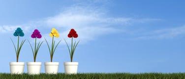 pojęcie wiosna Obrazy Stock