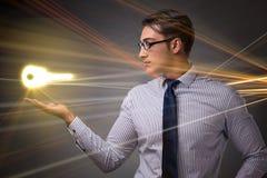 Pojęcie z kluczem sukces ilustracja Fotografia Stock