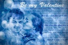pojęciem jest mój valentine Zdjęcia Stock