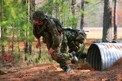 pojawiające się marines Fotografia Stock