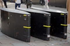Pojazd bariery Zdjęcia Royalty Free
