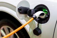 Pojazd elektryfikacja jeżdżenie Zdjęcia Stock
