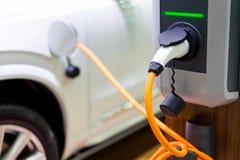 Pojazd elektryfikacja jeżdżenie Obrazy Royalty Free