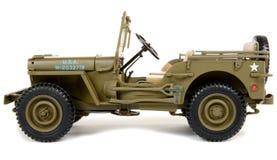 Pojazd wojskowy zabawka Fotografia Royalty Free