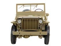 Pojazd wojskowy zabawka Zdjęcia Royalty Free