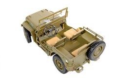 Pojazd wojskowy zabawka Fotografia Stock