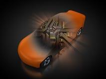 Pojazd z otwartym carbody ilustracji