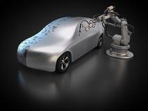 Pojazdu fabrykować ilustracji