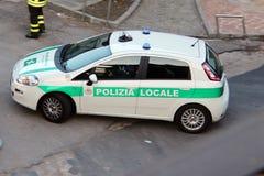 Pojazdu ratunkowego nagłego wypadku samochód policyjny Zdjęcie Royalty Free