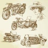 pojazdu rocznik ilustracji