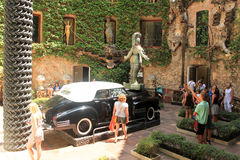 Pojazdu Salvador Dali muzeum Figueres Obraz Stock