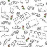 Pojazdu tło royalty ilustracja