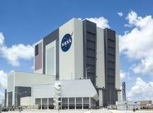 Pojazdu zgromadzenie budynek przy NASA, Kennedy przestrzeń Zdjęcia Stock