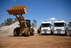 pojazdy przemysłowe zdjęcia stock