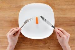 Pojęcie dieting, zdrowy łasowanie Zdjęcie Royalty Free