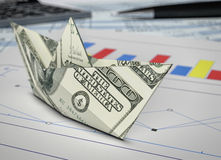 Pojęcie finanse Fotografia Stock