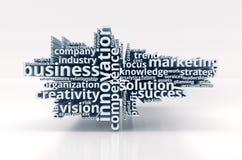 Pojęcie nowożytny biznes Fotografia Stock