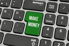Pojęcie robić pieniądze online Obraz Royalty Free