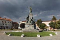 Pojednanie park Arad, Rumunia Fotografia Stock