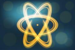 Pojedyncza atom ilustracja royalty ilustracja