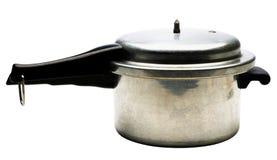 Pojedyncza ciśnieniowa kuchenka Fotografia Royalty Free