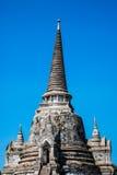 Pojedyncza pagoda przy Watem Phra Si Sanphet, Ayuthaya, Tajlandia Obrazy Stock